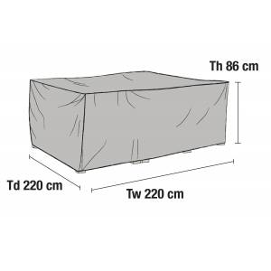 Brafab Möbelskydd Till 3-sitssoffor 220 x 220 x 86 cm