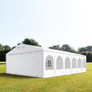 taltpartner.se Partytält 8x12m PVC 550 g/m² vit vattentät
