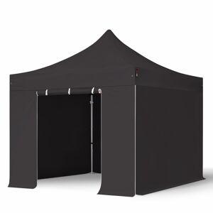 taltpartner.se Snabbtält 3x3m HögkvalitetsPolyester 400 g/m² svart vattentät