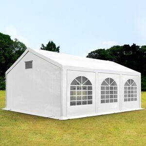 taltpartner.se Partytält 3x6m PE 300 g/m² vit vattentät