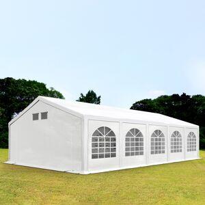 taltpartner.se Partytält 5x10m PE 300 g/m² vit vattentät