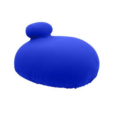 FOM Puff Poltrona Azul Bic
