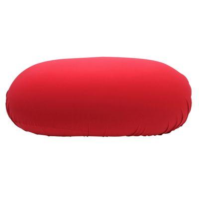 FOM Puff Sofá Vermelho