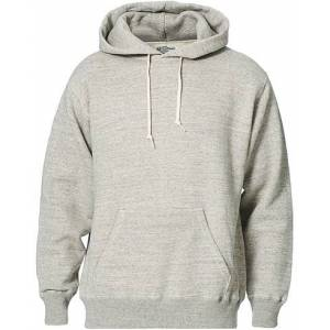 orSlow Loop Wheel Hooded Sweatshirt Heather Grey men 3 - M