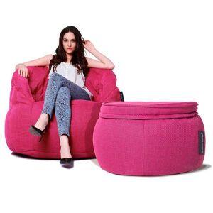Buttery chaise Indoor Butterfly Chaise Sett Sakura Pink