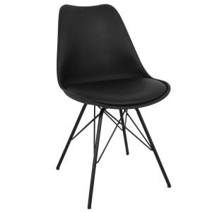 Nimara.dk Comfort - Sort Spisebordsstol