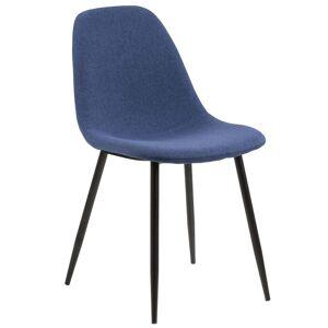 Nimara.dk Signe - Blå polstret stol