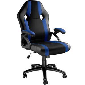 tectake Gamer stol Goodman - sort/blå