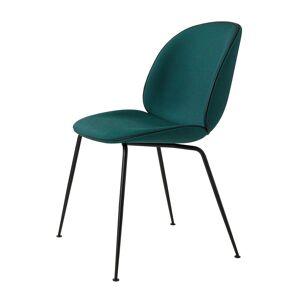 Gubi Beetle Dining Chair, Sort/ Kvadrat Canvas 984