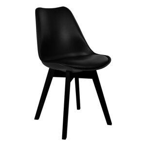 Viborg Spisebordsstol i plast - Svart