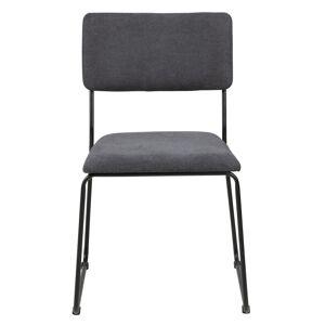 Cornelia Spisebordsstol - Mørkegrå - H:80
