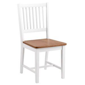 Aussi Spisebordsstol i gummitre - Hvitmalet