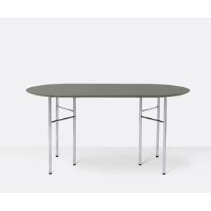 ferm LIVING - Mingle Bordplate oval 150x75 - Tarkett