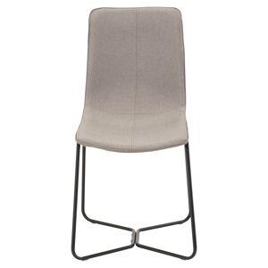 X-Chair Spisebordstol, Grå Stoff