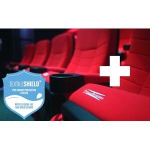 DreamScreen CINESEAT THEATRE MED TEXTILESHIELD BLACK FABRIC ADDON SEAT
