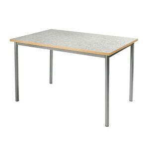 Linoleumbord 120x60cm 72 cm antracit