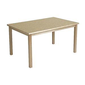 Tapiflexbord 80x120cm höjd 72cm sand