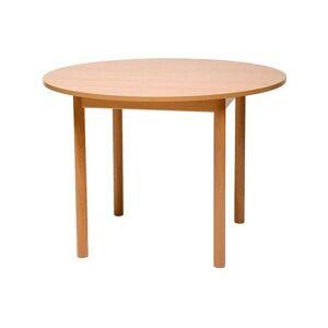 Förskolebord björk Rund 120cm  64 cm
