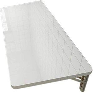HZWLF Väggmonterat flytande fällbart datorskrivbord drop-Leaf bord Pc matbord träbord