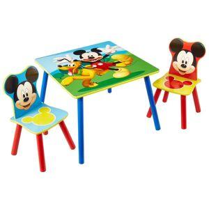 Disney Bords- och stolset i 3 delar Musse Pigg trä WORL119014