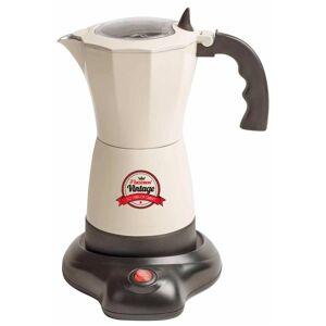 Bestron Espressobryggare AES500RE 6 koppar 480 W naturvit
