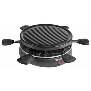Bestron Raclettegrill ARC650 800 W svart