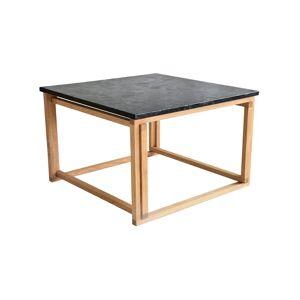 SoffaDirekt ACCENT Soffbord Granit/Ek 75x75
