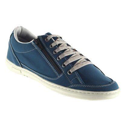 Sapatênis Doc Shoes Ziper. - Masculino-Azul