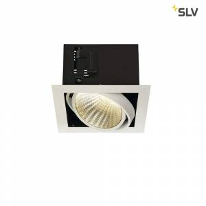 SLV LED Indbygningsspot KADUX Single XL, 24,5W, COB LED, 3000K, 30°, inkl. netdel, C
