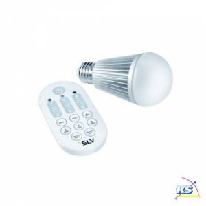 SLV COLOR CONTROL COLO Bulb Master Lyskilde, 8W, E27, inkl. Fjernbetjening