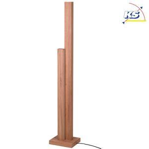 LED Standerlampe træ KS-SL-HS1, 2-flammer, 37.5W 3000K 3500lm, inkl. Touch dæmpe
