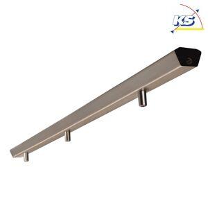 3-times lys bar til Pendulophæng KS-NL-S1, 113 x 5.2 x 3.3cm, Børstet stål