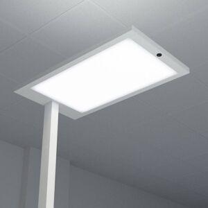 Arcchio Almira LED-gulvlampe til kontor med dæmper, sølv