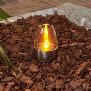 Lindby Dekorativ LED solcelle bordlampe Pedas, 10 stk.