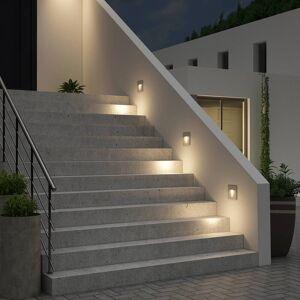 Arcchio Lanti vægindbygningslampe, G9, sølv