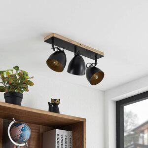 Lindby Colton loftspot sort/guld 3 lyskilder