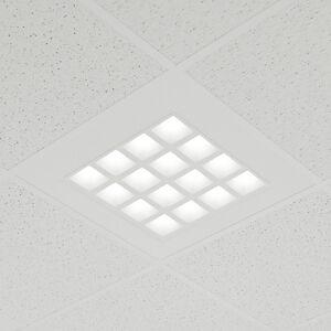 Lampenwelt.com LED-indbygningspanel Merti i hvid, 4.000K