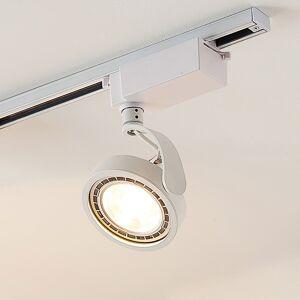 Arcchio 1-faset LED-spot Rick i hvid