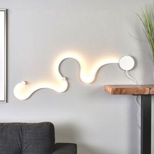 Lindby Sandor - LED væglampe med unikt lys