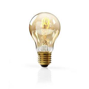 Nedis, Dæmpbar LED-vintageglødepære E27, A60, 3 W, 100 lm