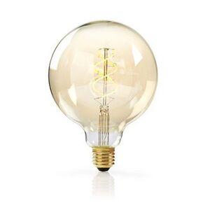 Nedis, Dæmpbar LED-vintageglødepære E27, G125, 5 W, 260...