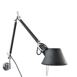 Artemide Tolomeo Mini Wall Lamp Black