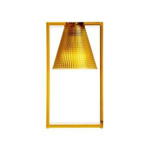Kartell Light-Air Table Lamp Sculpted Amber