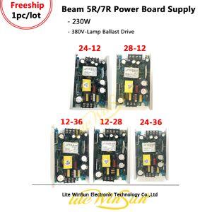 Beam Litewinsune Warehouse 7R 230W Beam Moving Head Power Board Supply 230-380V 28V 24V 12V 36V
