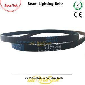 Beam Litewinsune Beam Lighting Belts 375-3M HTD 477-3M Pan Tilt Belts for Beam 7R Beam 5R Stage Lighting