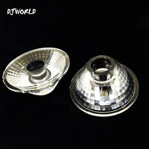 Beam Leds Flat 25/40 Beam Angle Lens For Professional Lighting Stage LED Flat Par 7psc Disco DJ Atmosphere Of Music Party