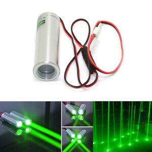 Beam Fat Beam 532nm 50mW Green Laser Diode Module for KTV Bar DJ Stage Lighting