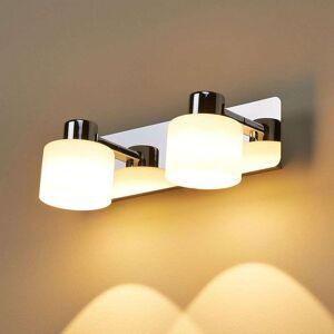 Lampenwelt.com Emira - LED-vegglampe med to lys