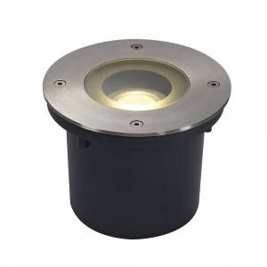 SLV Wetsy LED Disk 300 Ingroundfitting, Rund, Stainl. Stål316, inkl.