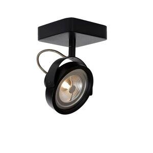 Lucide Tala LED Modern Square Metal Black Ceiling Spot Light